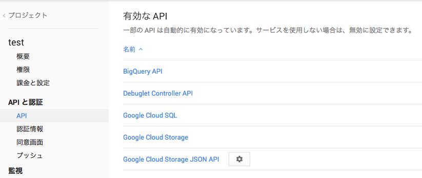 APIと認証