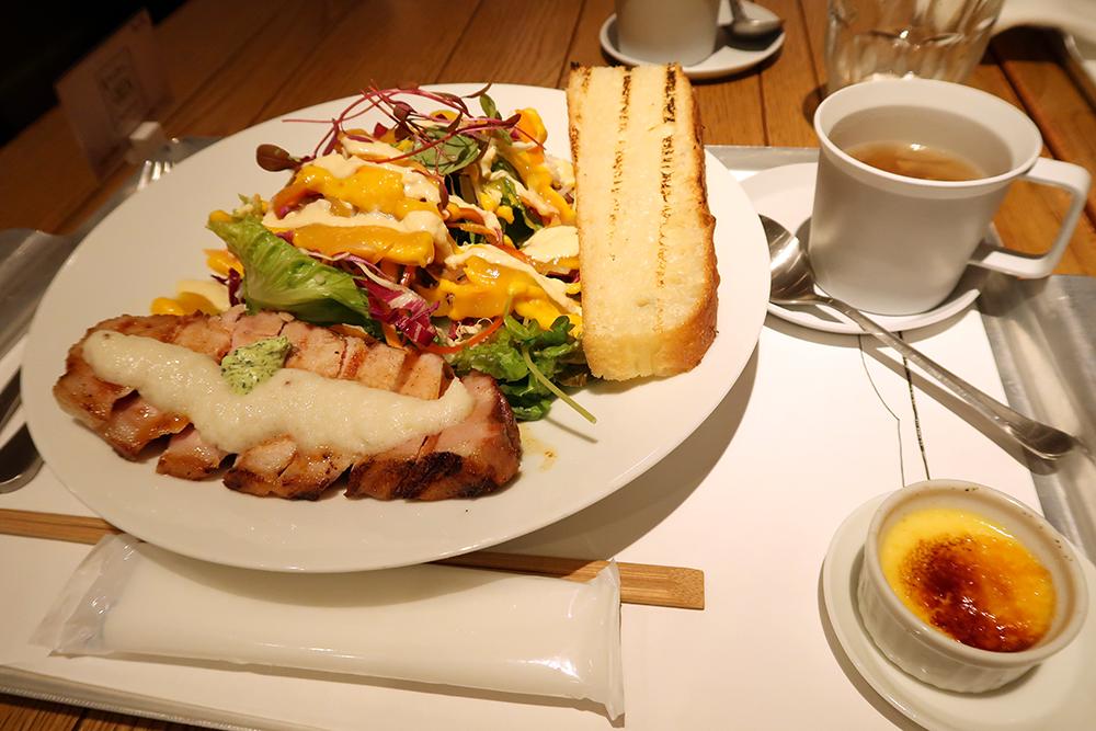 サラダ+グリル